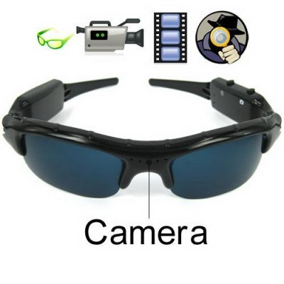 Special Eyewear with The Smallest Camera for Hidden - Support T-flash Card